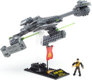 Mega Bloks Klingon D7 Class Battlecruiser