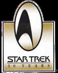 Star Trek 30th anniversary logo