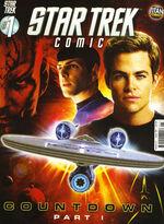 Star Trek Comic issue 1 cover