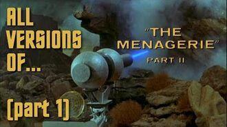 """TOS """"The Menagerie"""" - """"La ménagerie"""" - comparaison des effets spéciaux"""