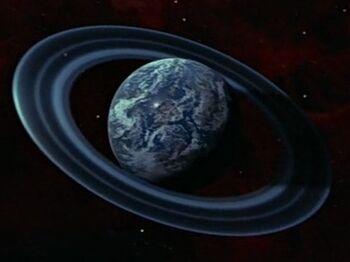 Ba'ku from orbit