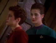 Kira Nerys and Jadzia Dax, 2369