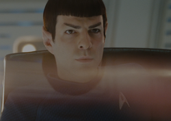 Spock als acting captain