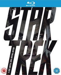 Star Trek 3 disc Blu-ray Region B cover