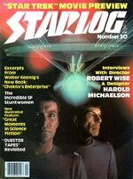 Starlog issue 30 cover