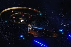 USS Discovery ventral