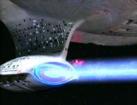 USS Enterprise-D navigational.deflector