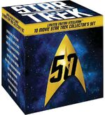 10 Movie Star Trek Collector's Set - Limited Edition Steelbook Collection box cover