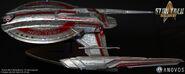 Anovos USS Shenzhou Studio-Scale Filming Miniature
