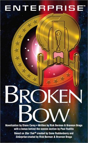 Cover of the novelization of <i>Broken Bow</i>