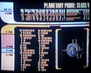 Class V planetary probe graphic