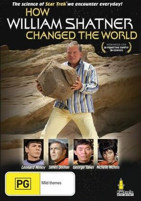 How William Shatner Changed the World Region 4 DVD cover.jpg