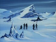 Mad planet, snowscape