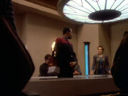 Sisko warnt den Maquis
