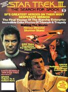 Star Trek III Official Movie Magazine cover