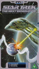 TNG 2.4 UK VHS cover