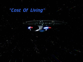 Cost of Living title card