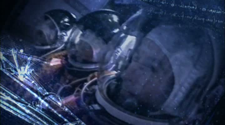 Astronauten im Cockpit