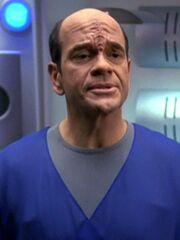 Der Doktor (Qomar-Hologramm)