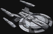 Eaglemoss USS Yeager DIS
