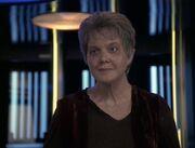 Kes's goodbye to Janeway