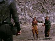 Kira und O'Brien erreichen das Arbeitslager