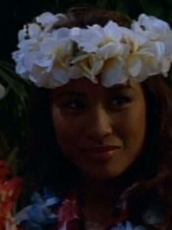 ... as a Hawaiian woman
