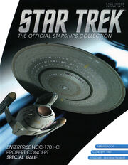 Star Trek Official Starships Collection Enterprise-C Probert Concept Special Issue cover