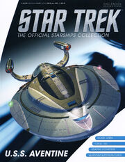 Star Trek Official Starships Collection USS Aventine cover