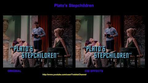 """TOS """"Plato's Stepchildren"""" - """"La descendance"""" - comparaison des effets spéciaux"""