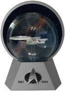 Willitts USS Enterprise-D Special Comm Ed Star Globe