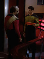 Worf, engineering officer