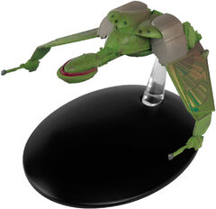 Eaglemoss 107 Klingon Bird-of-Prey Attack Position