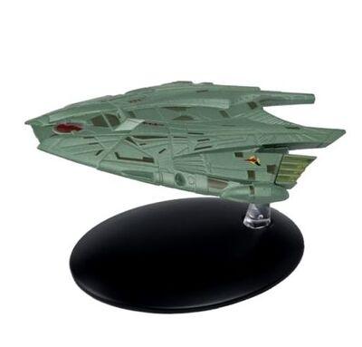 Raumschiffsammlung 71 Goroths klingonisches Transportschiff