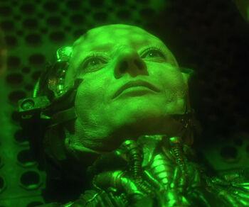 ...transformed into a Borg drone