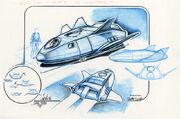 Shuttlepod concept art