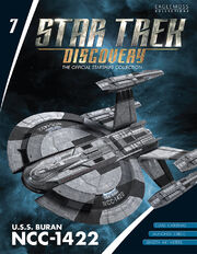 Star Trek Discovery Official Starships Collection issue 7