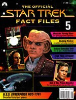Star Trek Fact Files Part 5 cover
