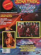 Star Trek II Official Movie Magazine cover