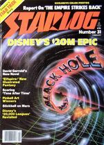 Starlog issue 031 cover