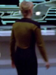 Sternenflottenoffizierin Technik USS Enterprise-D 2364 Sternzeit 41209