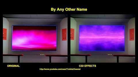 """TOS """"By Any Other Name"""" - """"Tu n'es que poussière"""" - comparaison des effets spéciaux"""