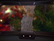 Weihnachtsbaum auf dem Hauptbildschirm