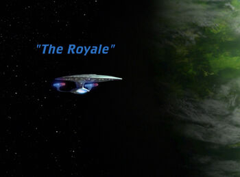 The Royale title card