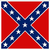 Confederate Army battle flag