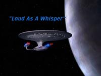 Loud As A Whisper - scena tytułowa