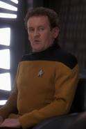 O'Brien en uniforme d'apparat