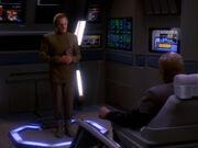 Odo hat gute Nachrichten für Sisko