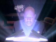 Sisko konsultiert Drehkörper