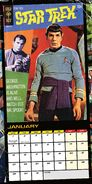 Star Trek Official 2018 Calendar interior